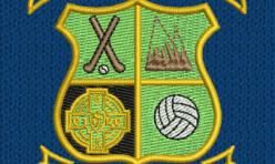 Ballybrown GAA Crest embroidered by Robin Archer Limerick