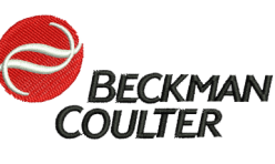Beckman Coulter Logo embroidered by Robin Archer