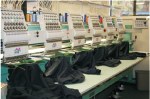 Embroidery Machines used by Robin Archer