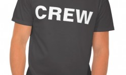Crew and Staff T-Shirts printed at Robin Archer Limerick