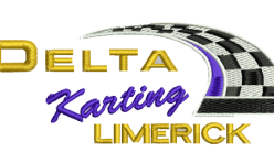 Delta Karting Limerick Badge embroidered by Robin Archer