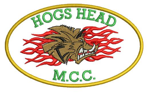 Hogs Head MCC badge « Robin Archer   T-Shirt Printing